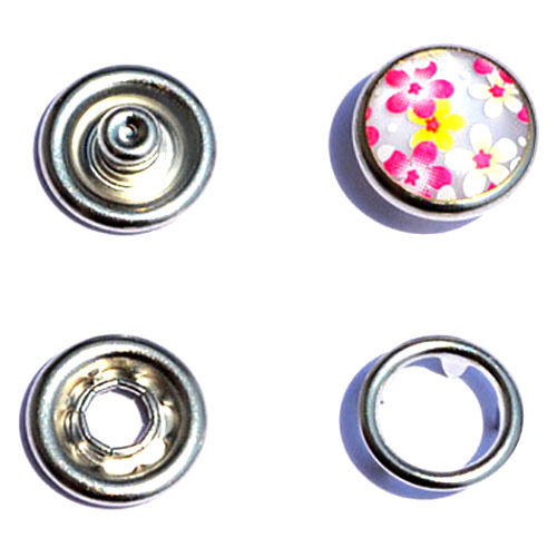 Horn Pearl Snap Button