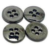 4 Hole Metal Button