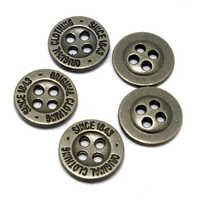4 Hole Garment Metal Button