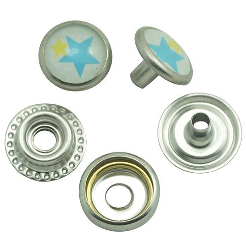 Decorative Pearl Press Snap Button