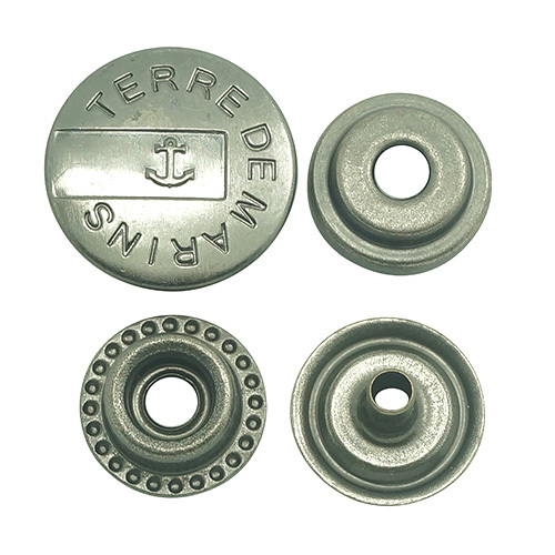 Press Snap Button For Leather Garments