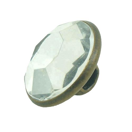 Diamond Pearl Loop Button