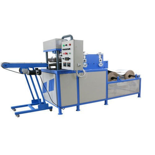 Vertical Hydraulic Thermocol Plate Making Machine