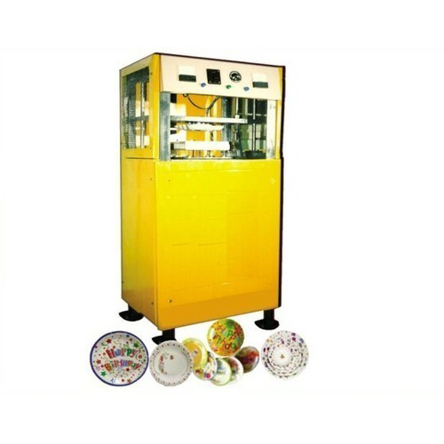 Automatic Vertical Paper Plate Making Machine
