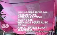 Pandal decorate ceiling fabric