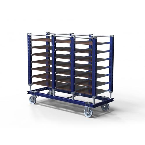Tray Shelf Cart