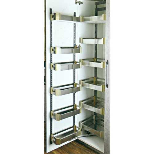 SS Satin Pantry Unit (6 Layer)