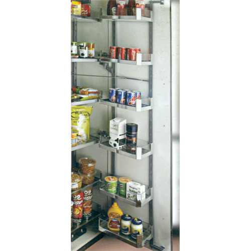Glass Pantry Unit (6 Layer)