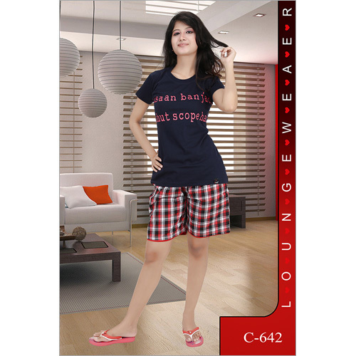 40165ddc8 Ladies Shorts Night Suit - LORDS CREATION PVT. LTD.
