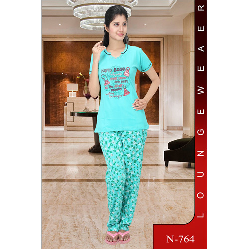 Designe Ladies Night Suit
