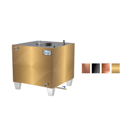 stainless Steel Square Water Tank - PUREVER TECHNIX LLP, 301