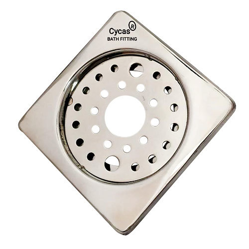 Stainless Steel Square Locking Floor Drain Cover