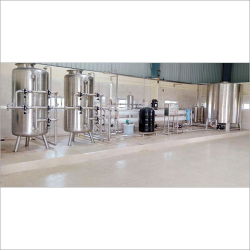 6000 LPH Water Treatment Plant