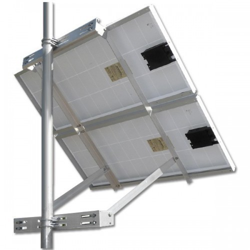 Solar Panel Pole Mount Frame