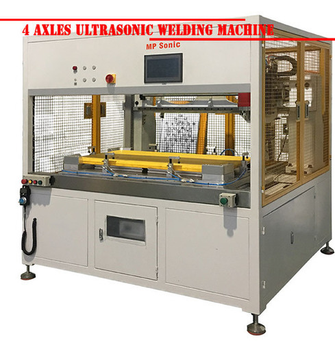 4 Axles Ultrasonic Welding Machine