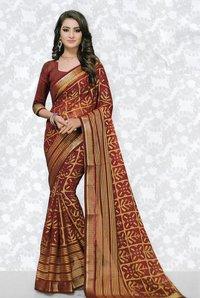 Indian woman designer sarees