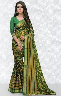 Indian woman designer sarees