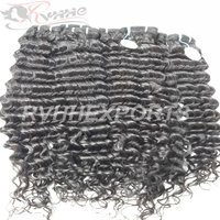 100% Indian Human Kinky Curly Natural Remy Extension Hair