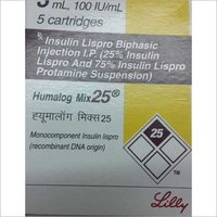 Insulin Lispro Biphasic Injection