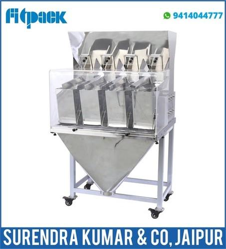 4 Head Weigh Filler Machine