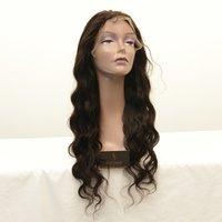 Transparent laceTemple Hair Full Lace Wigs