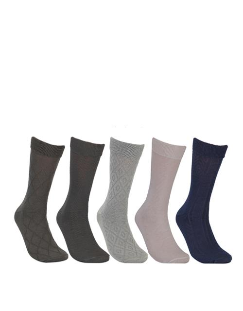 Men's Business Formal Cotton Calf Socks