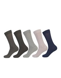 Men's Business Formal Cotton Calf Socks
