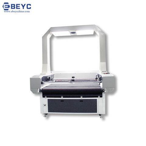 Large Scale Visual Automatic Edge Tracking Cutting Machine