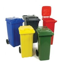 Plastic Dustbin with Wheel