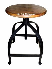 Chair Iron stool