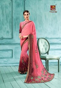 Stylish Georgette Sarees