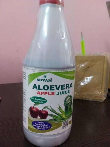 Aloe vera apple juice