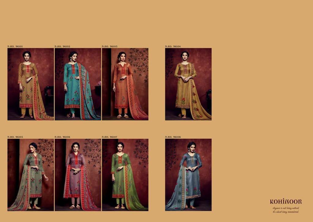 Printed Ladies Suits