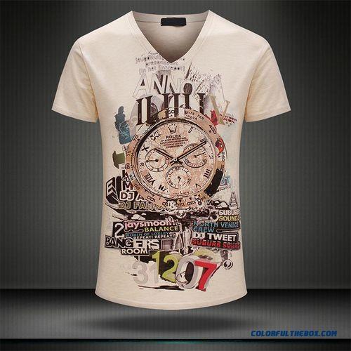 V Neck T-Shirts For Men