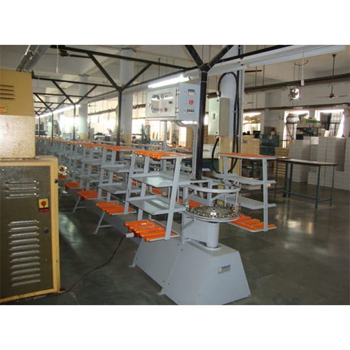 Shoe Lasting Conveyor For Leather Shoe