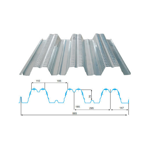 Stainless Steel Decking Roofing Sheet