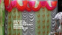 Fancy tent parda design