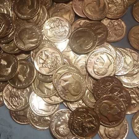 Brass Handicrafts Coin
