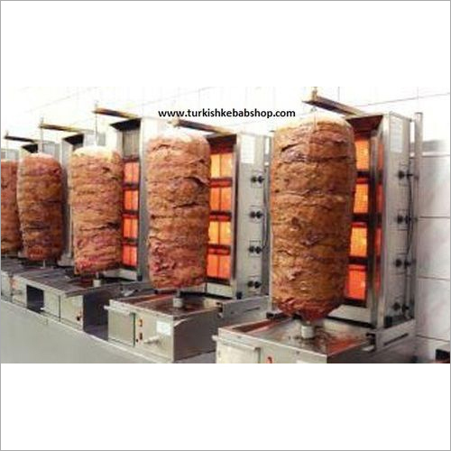 Gas Kebab Machine