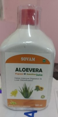 Aloe Vera Papaya Amaltas Juices