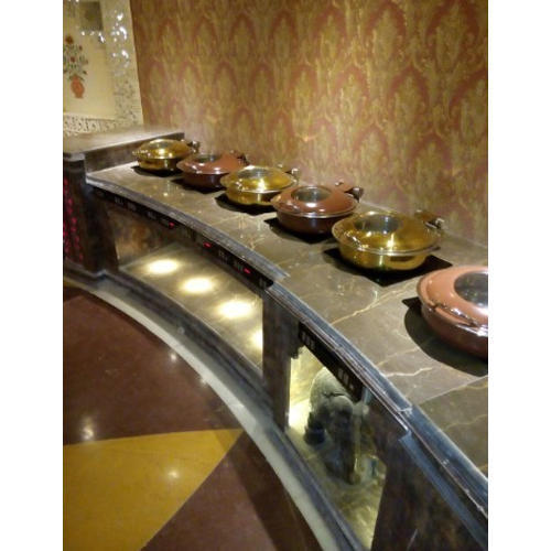 Round Induction Buffet Chafing Dish