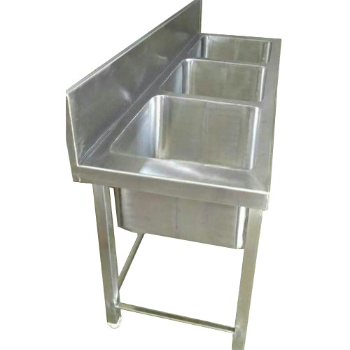 Commercial Stainless Steel Sink Unit