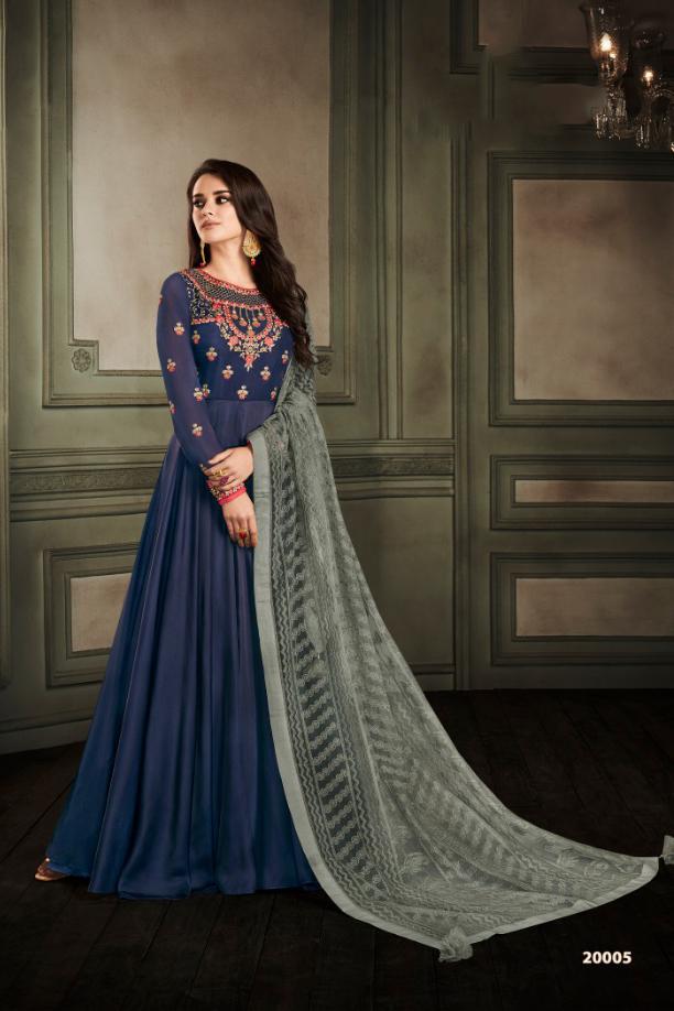 Designer Readymade Gown Anarkali Suit