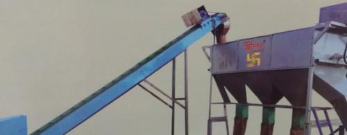 Screw Conveyor With Round Grader