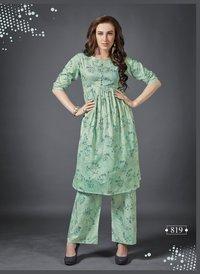 Trendy Kurti Palazo Outfit