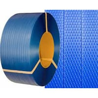 Blue Plastic Packing Strap Roll