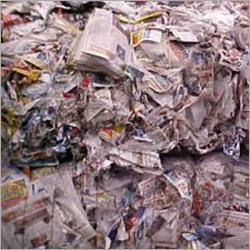 White Waste Paper