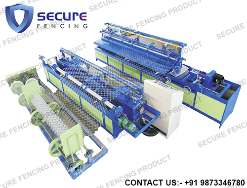 Fully Automatic Chain Link Fence Plant