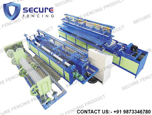 Semi Automatic Chain Link Plant