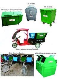 Heavy Dustbin & Rickshaw Dustbin